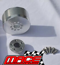 6PSI - 19PSI BOOST PULLEY UPGRADE KIT FOR HOLDEN M90 L67 SUPERCHARGED 3.8L V6