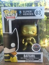 2015 BLACK FRIDAY GAMESTOP EXCLUSIVE FUNKO POP MYSTERY GOLD Batgirl! CHASE