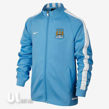 17ea20df9b0f Nike Manchester City Authentic N98 Track Kinder Fussball Kids Trainingsjacke
