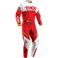 Completo Cross Thor Phase S6 Hyperion Red Tg. Pant 38 Usa -54 Europa maglia.XL