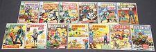 Vintage Silver Age Marvel Western Titles 13pc Mid Grade Average Comic Lot