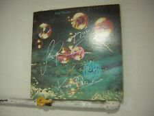 Deep Purple Signed LP Who Do We Think We Are 5 Members