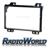 Ford Fiesta Fusion Double Din Fascia Facia Panel Adapter Plate Stereo Surround