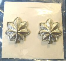 Lieutenant Colonel Rank Pin set Army Officer leaf Lt. Col. U.S. Military