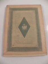 MUSEE MASSENA NICE CATALOGUE EXPOSITION RELIURES NAPOLEON 1er1933 BIBLIOPHILIE