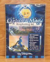 "Genuine Walt Disney World ""Capture The Magic"" Scrapbooking Kit **NOS-READ**"