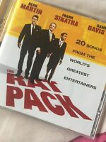 The Rat Pack, Martin/Sinatra/Davis, Audio CD, Good, FREE & Fast Delivery