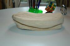 Ralph Lauren Made in Italy Baskenmütze Beret Toque Cap Leinen Sand Neu
