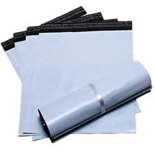 100pcs Premium White Poly Mailers Self Sealing Shipping Envelope Bags 8x 10