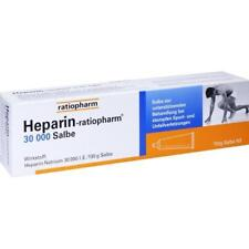 HEPARIN RATIOPHARM 30.000 Salbe 150 g PZN 7292721
