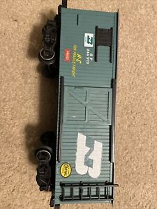 New Bright G Scale Green wood sided Boxcar Burlington Northern SP 246973