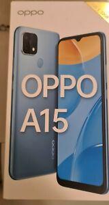 OPPO A15 CPH2185 - 32Go - Bleu ténébreux (Déverrouillé) (Dual SIM)