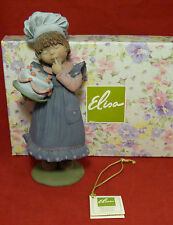 "ELISA "" DULCES MOMENTOS"" BIRTHDAY GIRL FIGURINE by MONTSERRAT RIBES SPAIN 9196"