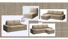 "IKEA Kivik 2 Seat & Chaise Sofa Cover Isunda Beige Loveseat""Sectional 3 Seat""Tan"