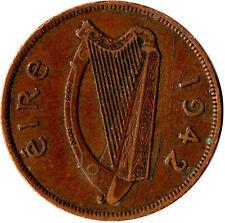 1942 ONE PENNY EIRE / IRELAND      #WT822