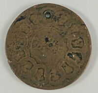 1787 FUGIO COPPER VG UNITED STATES COLONIAL WE ARE ONE COIN FADED / HOLED