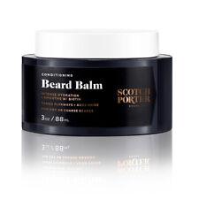 Scotch Porter CONDITIONING BEARD BALM • INTENSE HYDRATION + SMOOTHS with Biotin