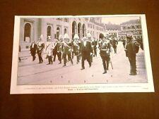L'Imperatore di Germania Guglielmo alle manovre in Svizzera A Berna con Forrer