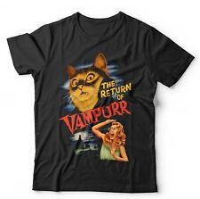 The Return Of Vampurr Tshirt Unisex & Kids - Funny, Cat, Vampire, Halloween