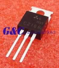2Pcs Transistor Mitsubishi To-220 2Sc2166 C2166 Brand New