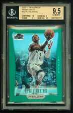2012-13 KYRIE IRVING PRIZM GREEN REFRACTOR BGS 9.5 UNBELIEVABLE BGS 10 CENTERING