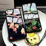 Flores tropicales TPU Silicona funda suave para el iPhone de Apple 5 6 6S Plus