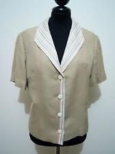CULT VINTAGE '70 Giacca Donna Cotone Woman Cotton Jacket Sz.M - 44