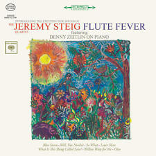 Jeremy Steig - Flute Fever CD NEW in a REPRO MINI-JACKET w/ Danny Zeitlin