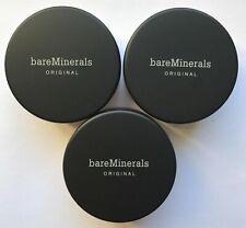 Bare Escentuals BareMinerals Foundation Golden Tan W30 8g XL SPF15 PACK OF 3