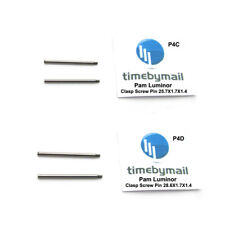 For PANERAI LUMINOR 2X Clasp Screw Pins 25.7mm / 28.6mm New Watch Spare Part