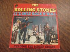 45 tours THE ROLLING STONES it's only rock n'roll