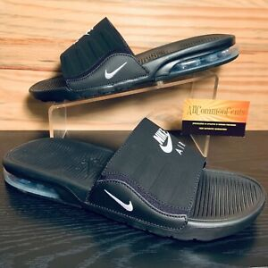 Nike Air Max Camden Men's Sandals Slides Size 10 Black White NEW BQ4626-003