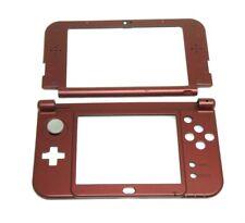 2015 Version Nintendo 3DS XL Red Housing Parts Original Middle Shell 3DSXL