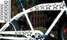 Sterne 3D Aufkleber Sticker für Fahrrad Bike Auto Quad Roller Tapete 24 Stück!
