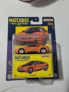 🔥 MATCHBOX COLLECTORS 2016 BMW I8 IN ORANGE #04/20 NICE 🔥