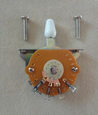 3 WAY LEVER BLADE SWITCH US RETRO STRAT STYLE by MIGHTY MITE for Electric Guitar