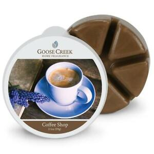 Goose Creek Candle Wax Cube Melts - Coffee Shop Scent 2.1 oz NEW w/Tags