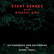 Etant Donnes - Offenbarung Und Untergang [New CD]