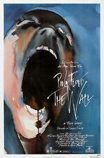 PINK FLOYD THE WALL ORIGINAL ROLLED THEATRICAL MOVIE POSTER 27X41 NEAR MINT 1982