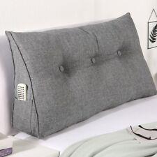 Bett und Rückenkissen Kopfkissen Stützkissen Wendekissen Kissen Nackenkissen