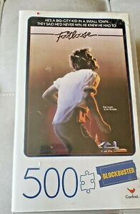 Video Case Blockbuster Cardinal Games Footloose Puzzle 500 piece Jigsaw Puzzle