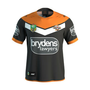 Wests Tigers Home Jersey Mens Small - Large, Women's & Kids NRL ISC SALE 18