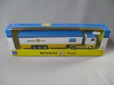 AH441 NEW RAY 1/87 RENAULT F1 TEAM CAMION SEMI REMORQUE Ref 46703