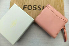 Fossil Ladies Caroline RFID Small Multifunction Coin Purse Wallet BNWT Blossom