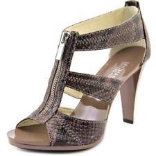 Sandalias y chanclas de mujer Michael Kors color principal marrón de piel