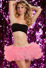 UK Sexy Lady/Girl's Mini TUTU Ballet Tail Skirt For Party/Dance/Show/Club/Corset