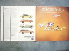 1973 FORD PINTO BROCHURE