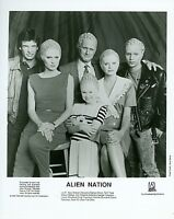 GARY GRAHAM ERIC PIERPOINT TERRI TREAS ALIEN NATION ORIGINAL 1989 FOX TV PHOTO