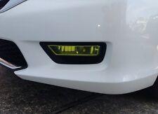 13-15 Honda Accord SEDAN Yellow Fog light JDM TINT PreCut Vinyl Film Overlays