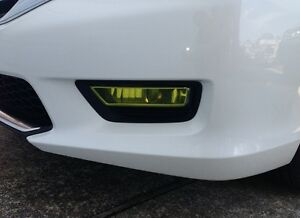 PreCut Vinyl Tint YELLOW Overlays for 13-15 Accord SEDAN Fog light